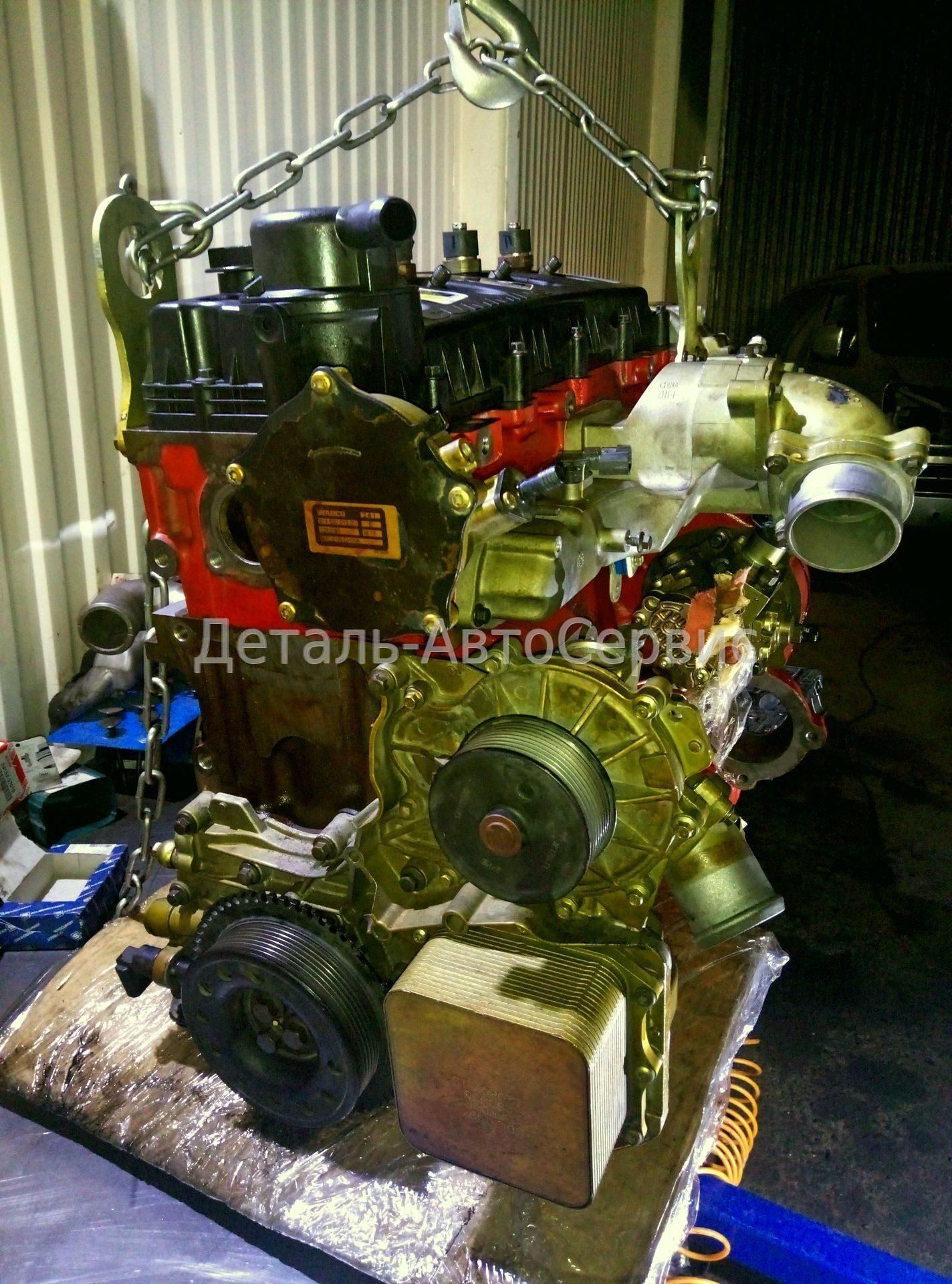 Ремонт двигателя камминз газель своими руками фото